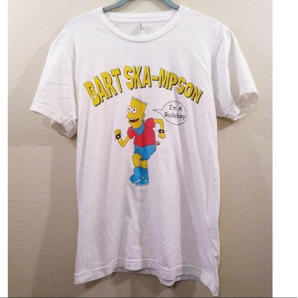 American Apparel Other - Bart Ska Simpson Im a Rudeboy American Apparel